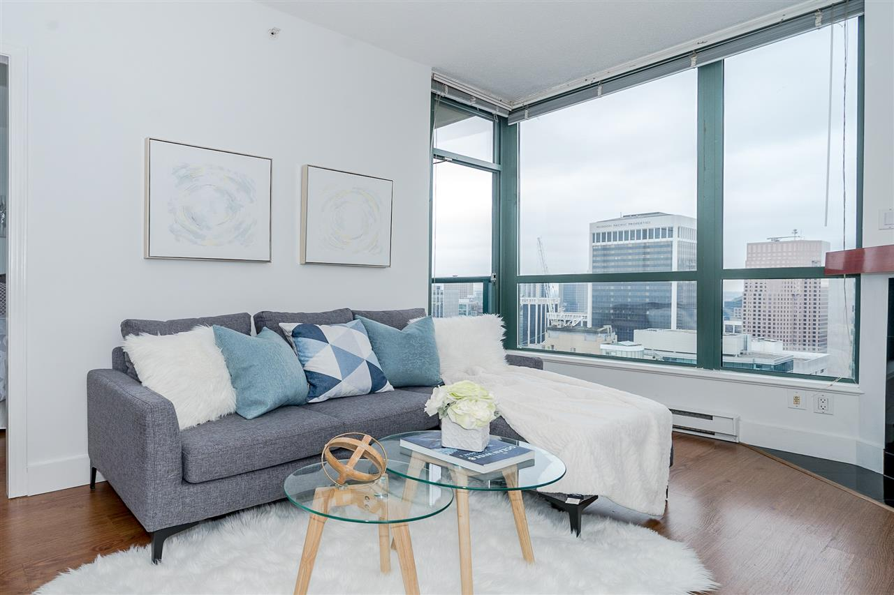 3209 1239 W GEORGIA STREET - Coal Harbour Apartment/Condo for sale, 1 Bedroom (R2495132) - #1
