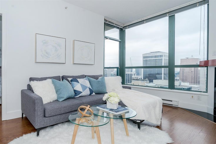 3209 1239 W GEORGIA STREET - Coal Harbour Apartment/Condo for sale, 1 Bedroom (R2495132)