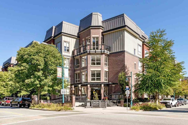414 2628 MAPLE STREET - Central Pt Coquitlam Apartment/Condo for sale, 2 Bedrooms (R2495337)