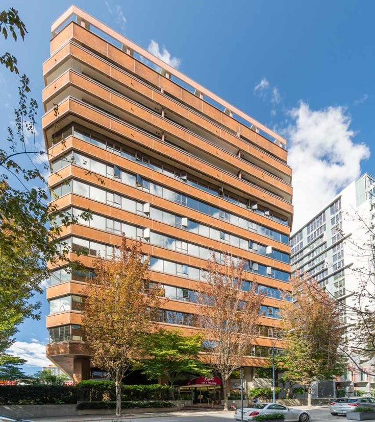 403 1177 HORNBY STREET - Downtown VW Apartment/Condo for sale, 1 Bedroom (R2495471)