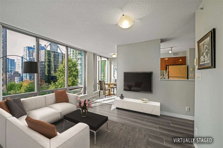 601 1288 W GEORGIA STREET - West End VW Apartment/Condo for sale, 1 Bedroom (R2495717)