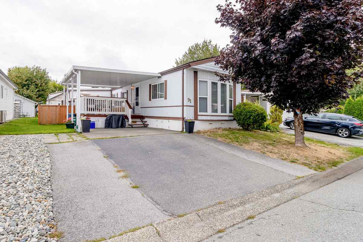 91 145 KING EDWARD STREET - Central Coquitlam Manufactured for sale, 3 Bedrooms (R2495926) - #1