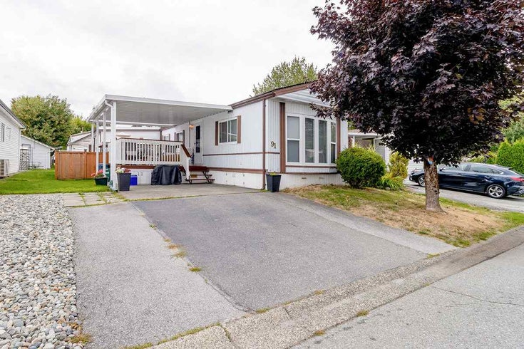 91 145 KING EDWARD STREET - Central Coquitlam Manufactured for sale, 3 Bedrooms (R2495926)