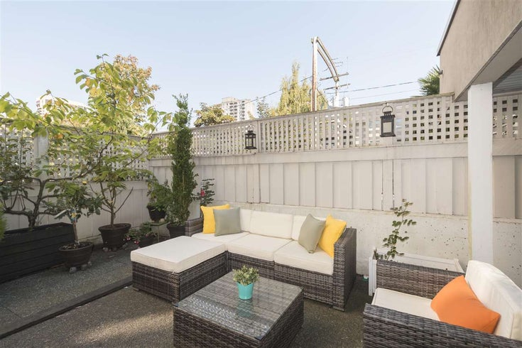 105 1525 PENDRELL STREET - West End VW Apartment/Condo for sale, 1 Bedroom (R2495970)