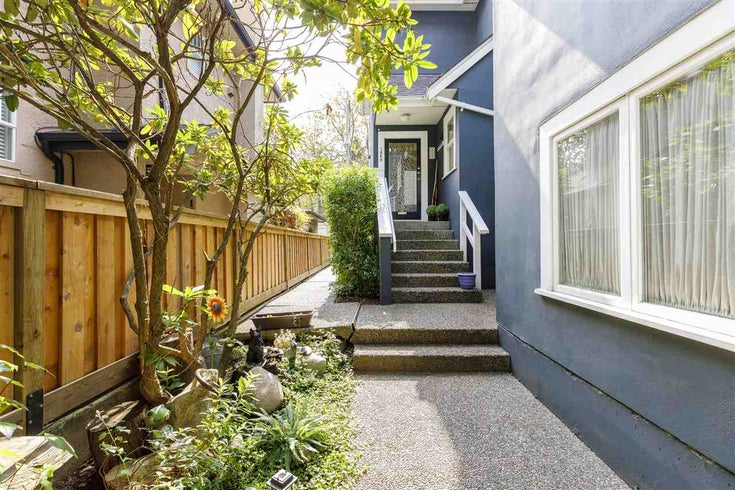 1860 W 11TH AVENUE - Kitsilano Townhouse for sale, 2 Bedrooms (R2496173)