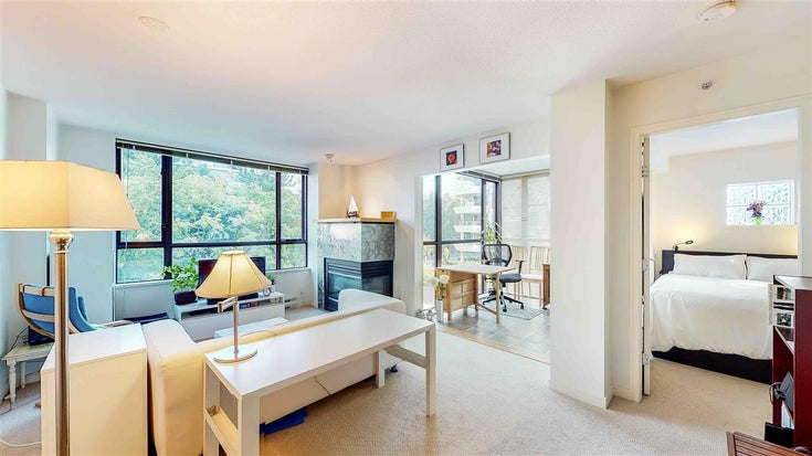 506 1003 PACIFIC STREET - West End VW Apartment/Condo for sale, 1 Bedroom (R2496971)