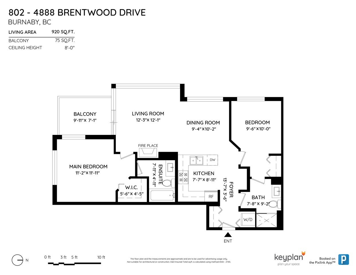 802 4888 BRENTWOOD DRIVE - Brentwood Park Apartment/Condo for sale, 2 Bedrooms (R2497418) - #19