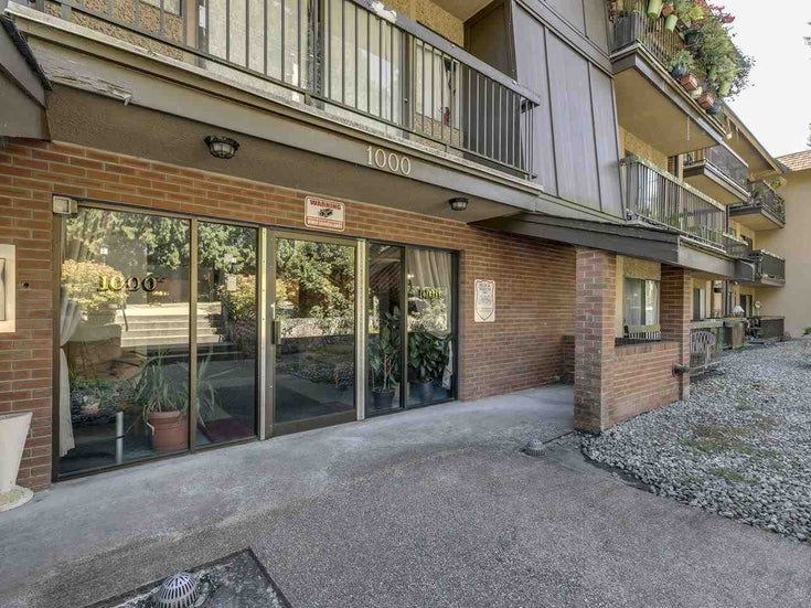 212 1000 KING ALBERT AVENUE - Central Coquitlam Apartment/Condo for sale, 1 Bedroom (R2497421)