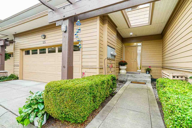 55 16655 64 AVENUE - Cloverdale BC Townhouse for sale, 5 Bedrooms (R2497685)