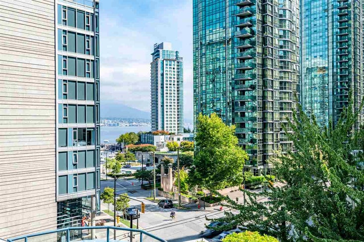 103 1415 W GEORGIA STREET - Coal Harbour Apartment/Condo for sale, 2 Bedrooms (R2497697)