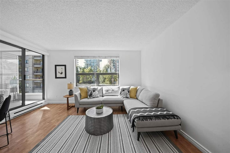 406 1080 BROUGHTON STREET - West End VW Apartment/Condo for sale, 1 Bedroom (R2497773)
