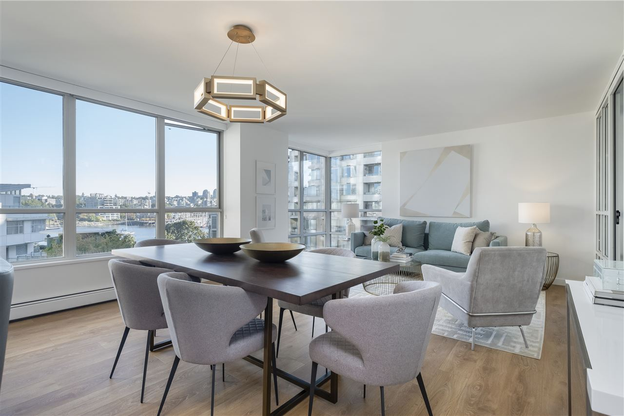 605 1228 MARINASIDE CRESCENT - Yaletown Apartment/Condo for sale, 2 Bedrooms (R2497776) - #10
