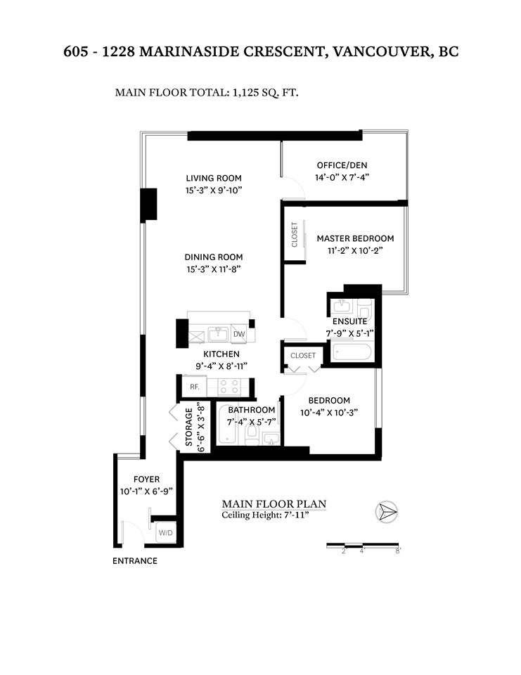 605 1228 MARINASIDE CRESCENT - Yaletown Apartment/Condo for sale, 2 Bedrooms (R2497776) - #32