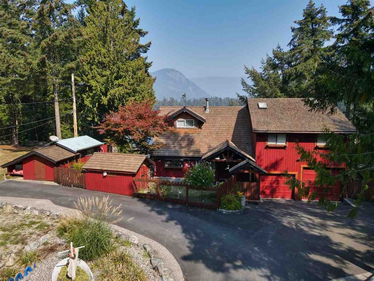12820 ALEXANDER ROAD - Pender Harbour Egmont House/Single Family for sale, 3 Bedrooms (R2498129)