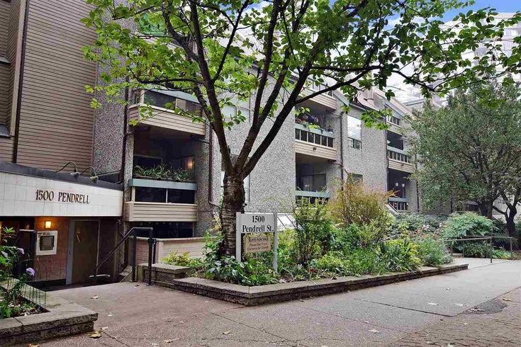 404 1500 PENDRELL STREET - West End VW Apartment/Condo for sale, 1 Bedroom (R2498288)