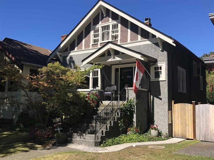 2845 W 14TH AVENUE - Kitsilano House/Single Family for sale, 3 Bedrooms (R2498447)