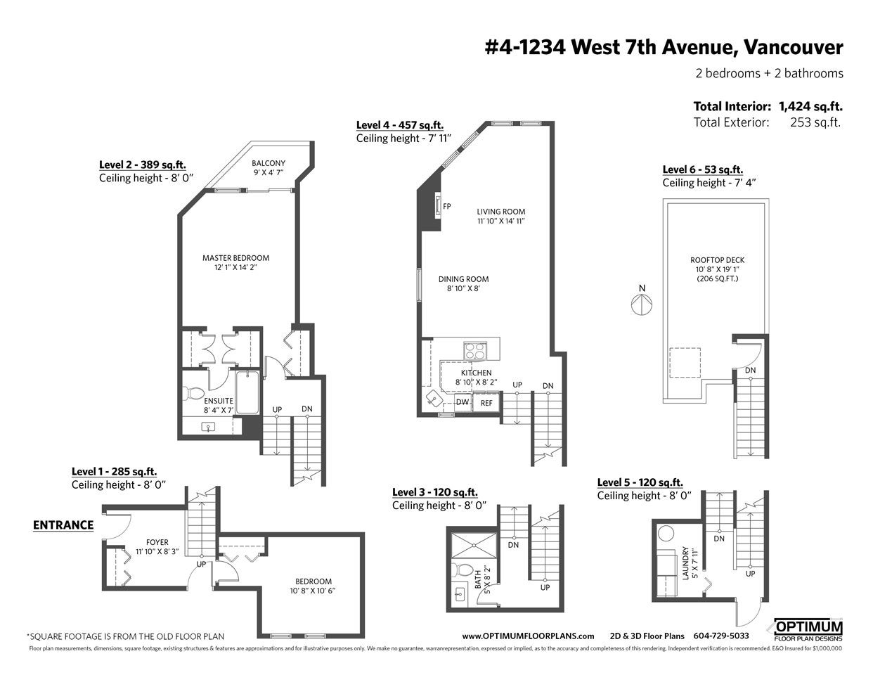 4 1234 W 7TH AVENUE - Fairview VW Townhouse for sale, 2 Bedrooms (R2498573) - #39