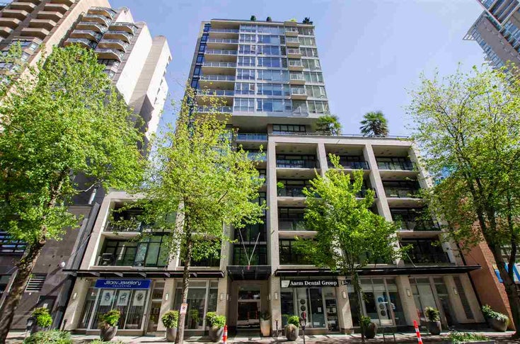 305 1252 HORNBY STREET - Downtown VW Apartment/Condo for sale, 1 Bedroom (R2498958)