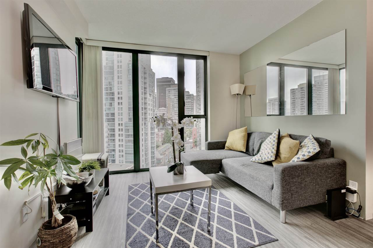 1501 1331 W GEORGIA STREET - Coal Harbour Apartment/Condo for sale, 1 Bedroom (R2499099) - #1