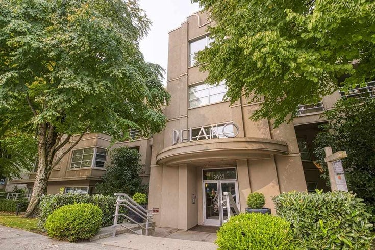 306 3023 W 4TH AVENUE - Kitsilano Apartment/Condo for sale, 1 Bedroom (R2499241)
