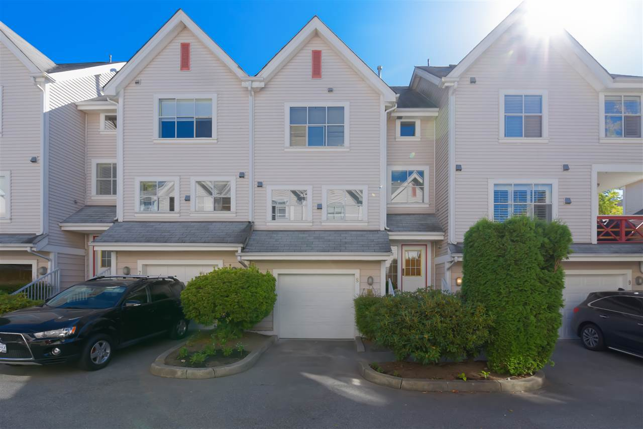 8 2450 HAWTHORNE AVENUE - Central Pt Coquitlam Townhouse for sale, 3 Bedrooms (R2499500) - #1