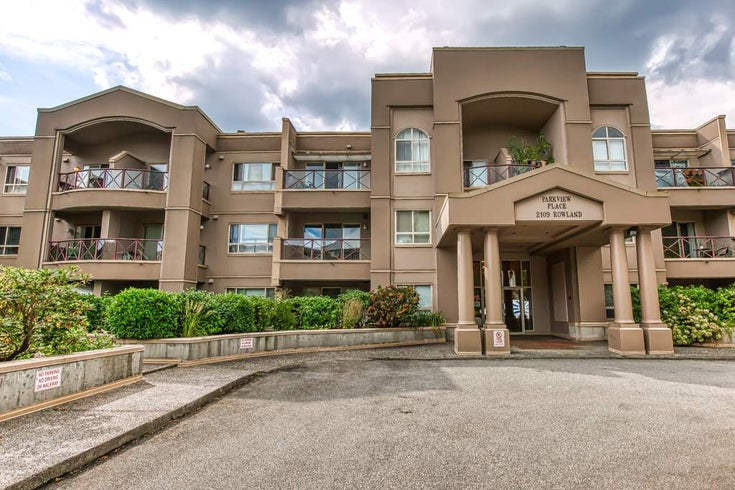 209 2109 ROWLAND STREET - Central Pt Coquitlam Apartment/Condo for sale, 2 Bedrooms (R2499683)