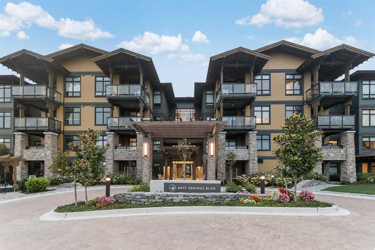 414 4977 SPRINGS BOULEVARD - Tsawwassen North Apartment/Condo for sale, 1 Bedroom (R2499771)