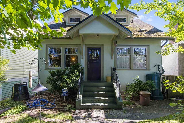 2206 E 7TH AVENUE - Grandview Woodland House/Single Family for sale, 4 Bedrooms (R2499809)