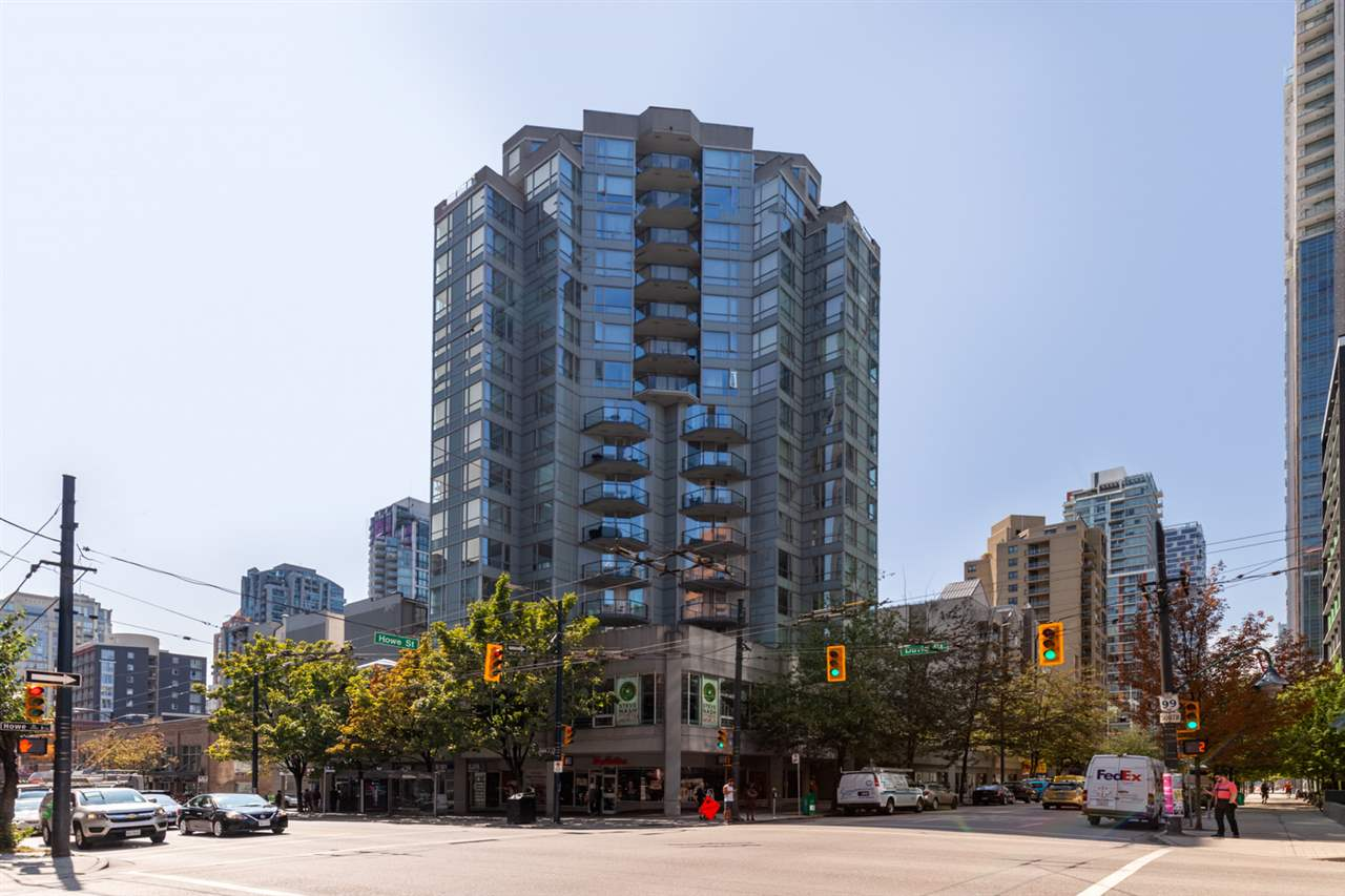 902 1212 HOWE STREET - Downtown VW Apartment/Condo for sale, 1 Bedroom (R2499907)
