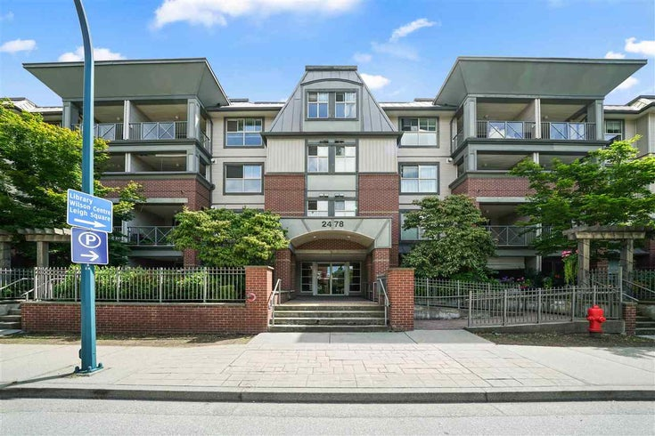 110 2478 SHAUGHNESSY STREET - Central Pt Coquitlam Apartment/Condo for sale, 2 Bedrooms (R2499943)