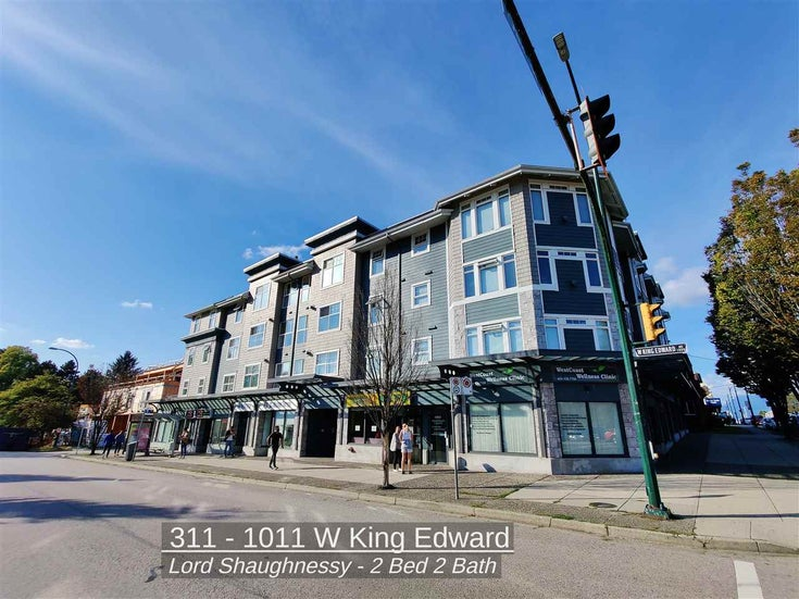 311 1011 W KING EDWARD AVENUE - Shaughnessy Apartment/Condo for sale, 2 Bedrooms (R2500068)