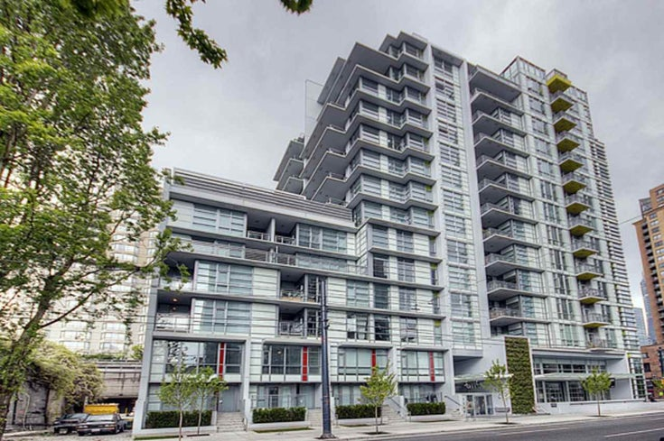 1208 1205 HOWE STREET - Downtown VW Apartment/Condo for sale, 1 Bedroom (R2500104)