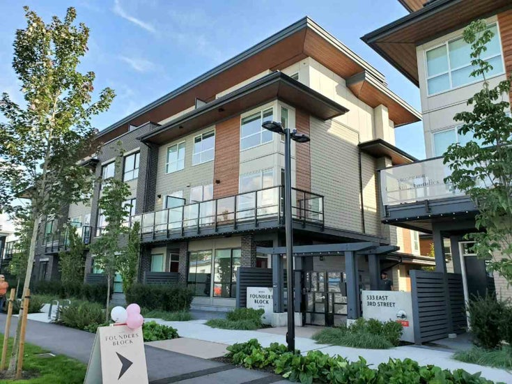 8 533 E 3RD STREET - Lower Lonsdale Apartment/Condo for sale, 2 Bedrooms (R2500154)