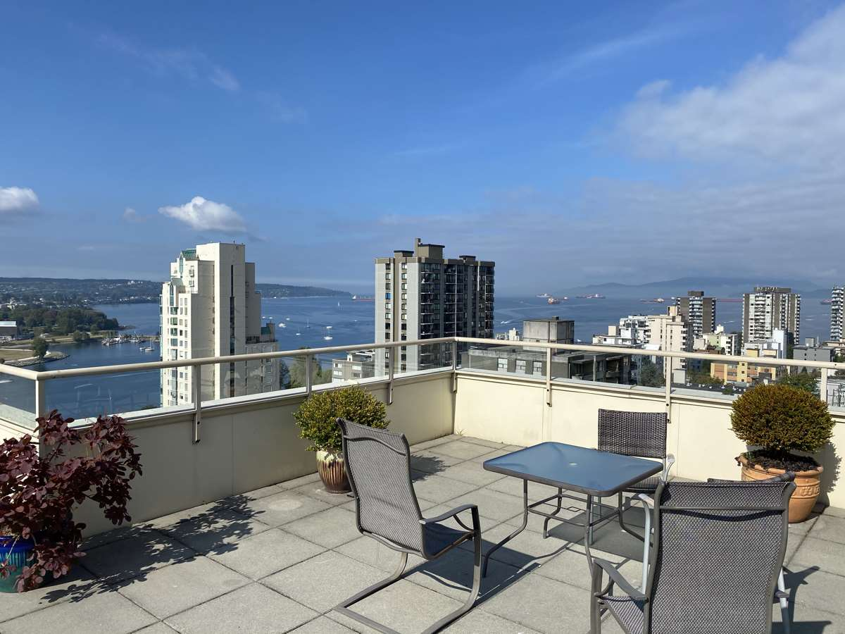 406 1250 BURNABY STREET - West End VW Apartment/Condo for sale, 1 Bedroom (R2500551)