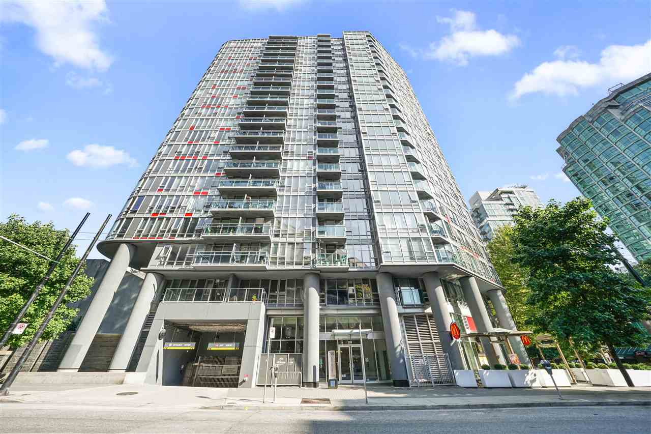 1007 788 HAMILTON STREET - Downtown VW Apartment/Condo for sale, 1 Bedroom (R2500616)