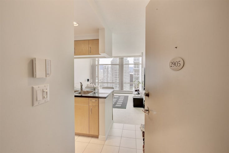 2905 198 AQUARIUS MEWS - Yaletown Apartment/Condo for sale, 1 Bedroom (R2500717)