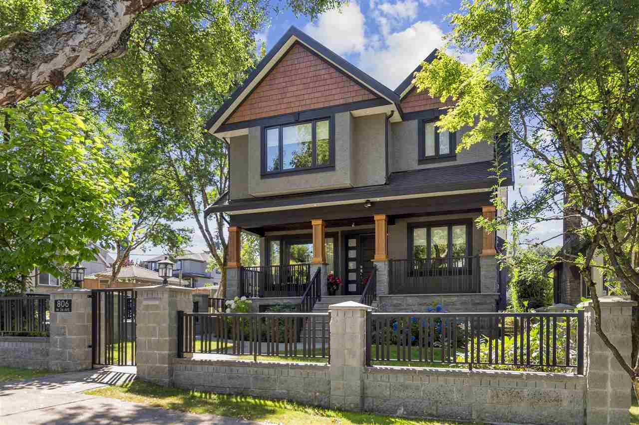 806 W 24TH AVENUE - Cambie House/Single Family for sale, 5 Bedrooms (R2500868)