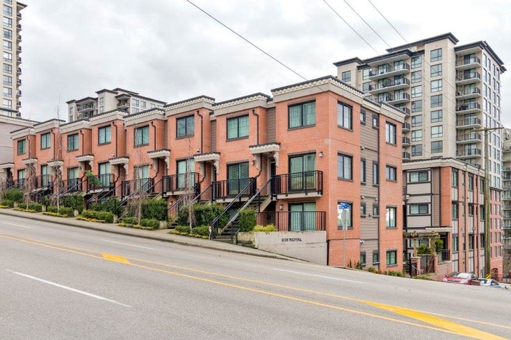 8 838 ROYAL AVENUE - Downtown NW Townhouse for sale, 2 Bedrooms (R2501048)