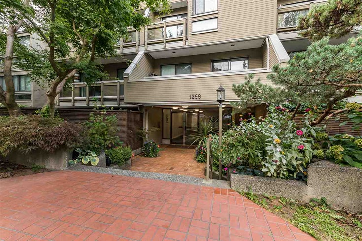 305 1299 W 7TH AVENUE - Fairview VW Apartment/Condo for sale, 1 Bedroom (R2501313)