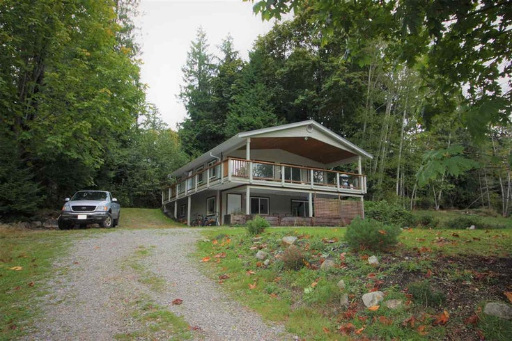 4559 MERRILL ROAD - Pender Harbour Egmont House/Single Family for sale, 3 Bedrooms (R2501840)