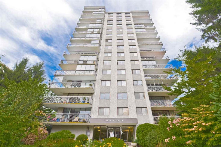 903 114 W KEITH ROAD - Central Lonsdale Apartment/Condo for sale, 2 Bedrooms (R2502024)