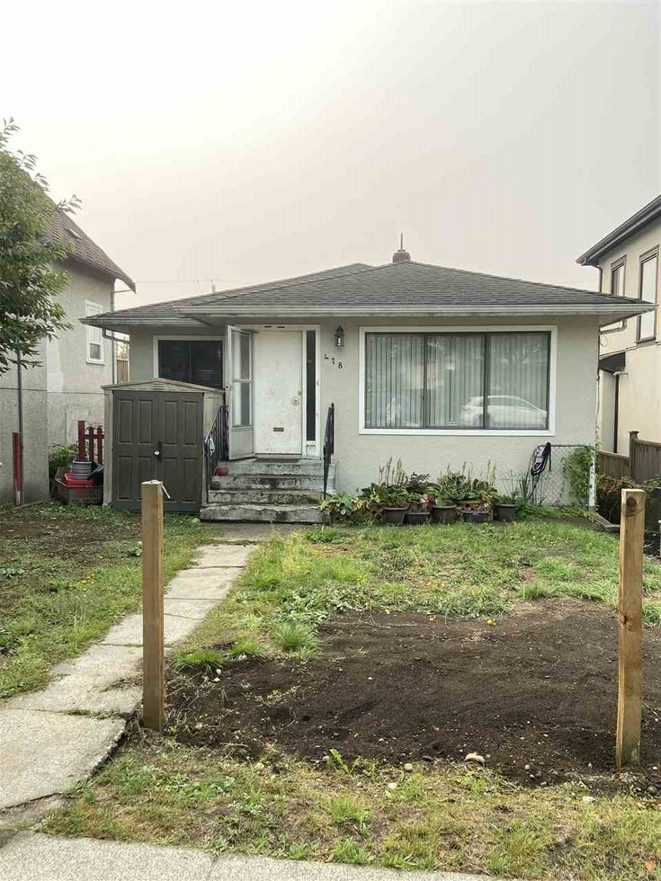 478 E 60TH AVENUE - South Vancouver House/Single Family for sale, 3 Bedrooms (R2502042)