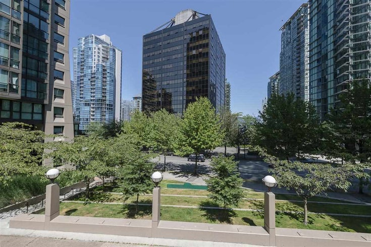 808 1333 W GEORGIA STREET - Coal Harbour Apartment/Condo for sale, 1 Bedroom (R2502064)