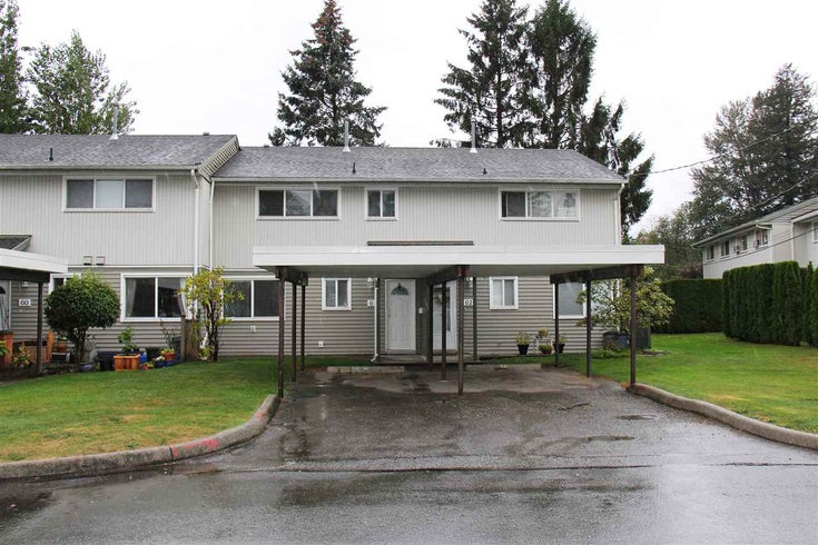 61 45185 WOLFE ROAD - Chilliwack W Young-Well Townhouse for sale, 3 Bedrooms (R2502166)