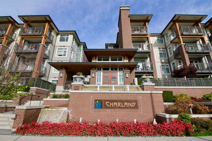 2203 963 CHARLAND AVENUE - Central Coquitlam Apartment/Condo for sale, 1 Bedroom (R2502372)