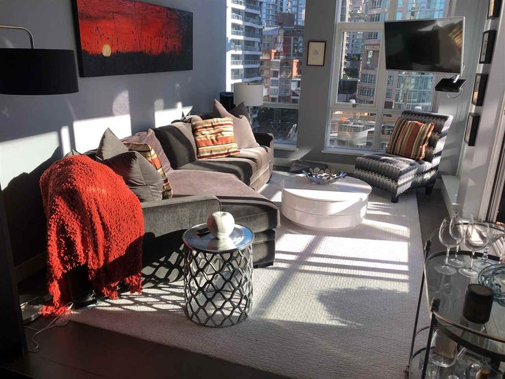 1202 1455 HOWE STREET - Yaletown Apartment/Condo for sale, 1 Bedroom (R2502567)