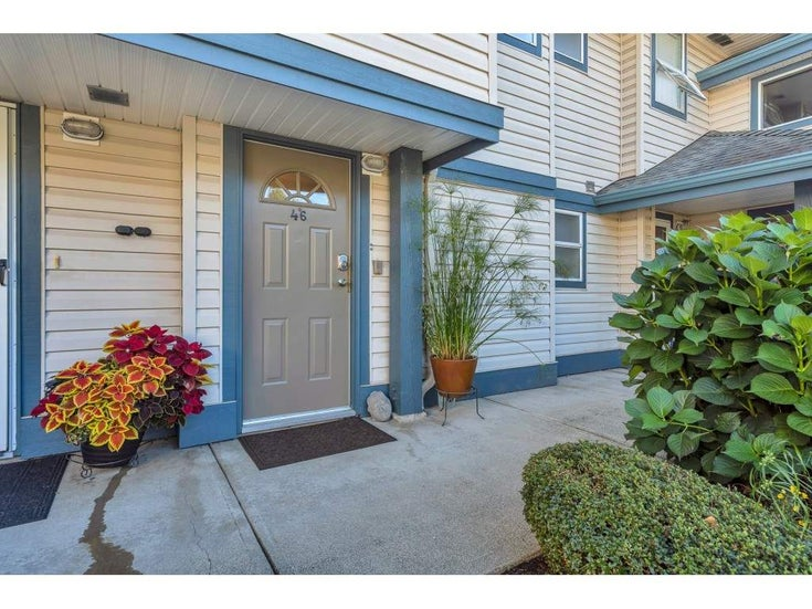 46 5670 208 STREET - Langley City Townhouse for sale, 2 Bedrooms (R2503222)
