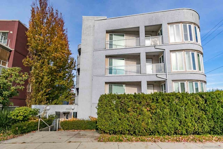 303 3505 W BROADWAY STREET - Kitsilano Apartment/Condo for sale, 1 Bedroom (R2503438)