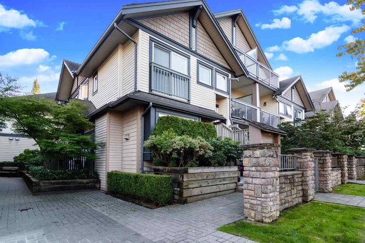 210 4458 ALBERT STREET - Vancouver Heights Townhouse for sale, 2 Bedrooms (R2503640)