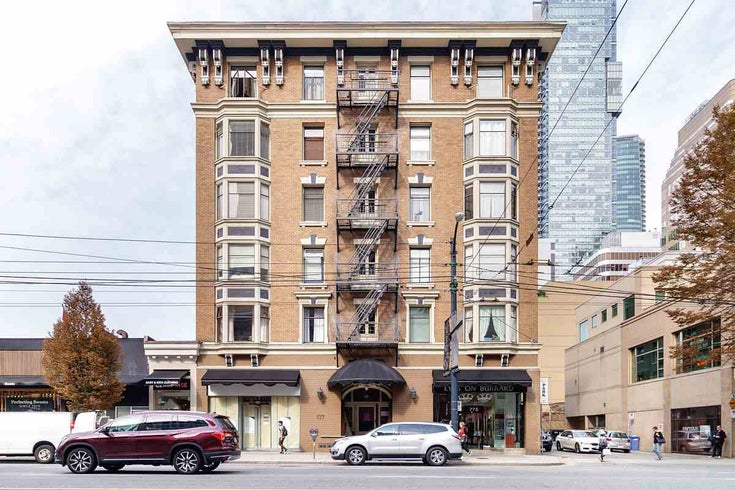 42 777 BURRARD STREET - West End VW Apartment/Condo for sale, 1 Bedroom (R2503858)